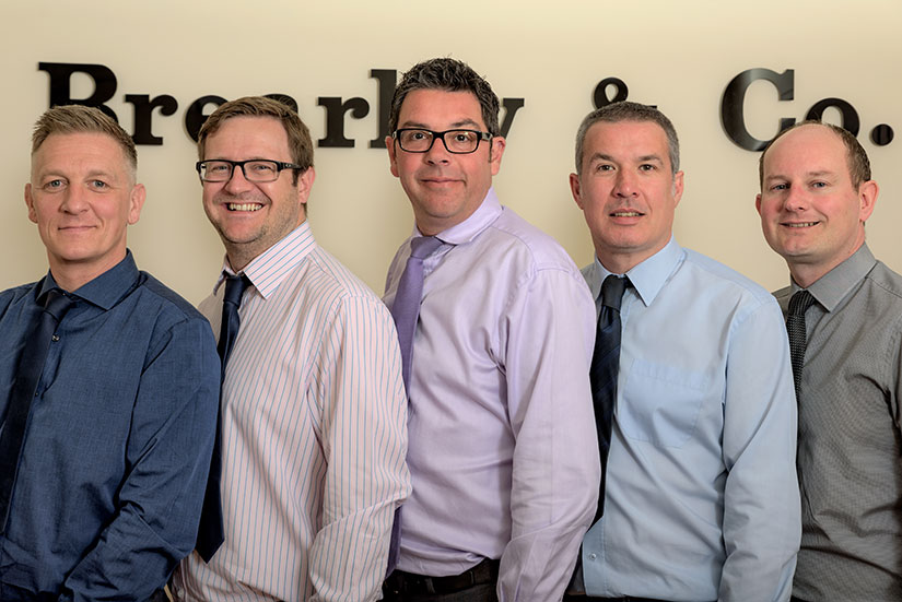 Brearley and Co team photo