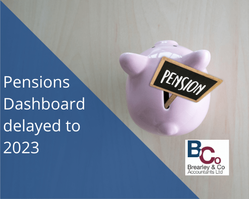 Pensions dashboard deleyed to 2023