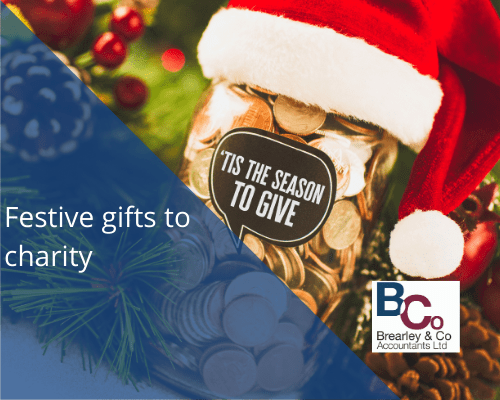 Festive gifts to charity