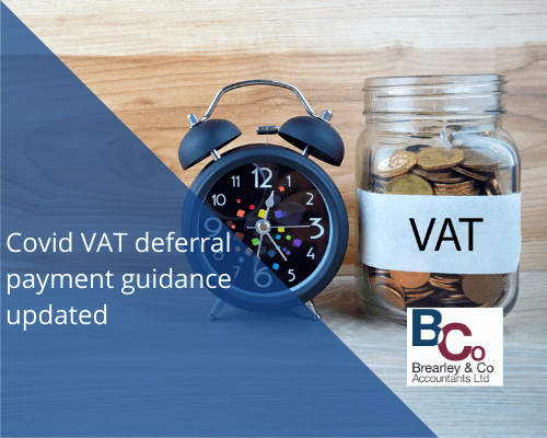 Covid VAT deferral payment guidance updated