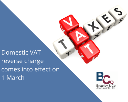 Domestic VAT reverse charge comes into effect on 1 March
