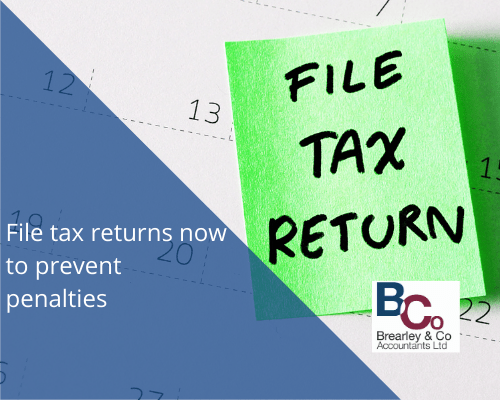 File tax returns now to prevent penalties#1