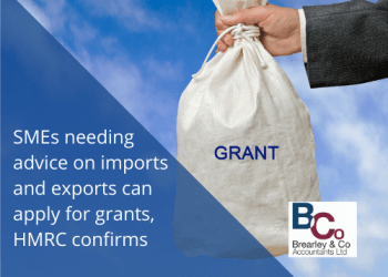 SMEs needing advice on imports and exports can apply for grants, HMRC confirms