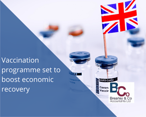 Vaccination programme set to boost economic recovery