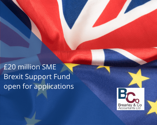 £20 million SME Brexit Support Fund open for applications