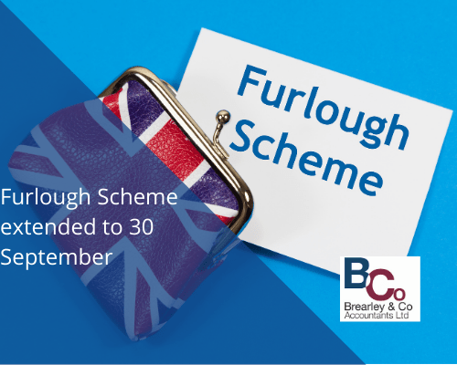 Furlough Scheme extended to 30 September
