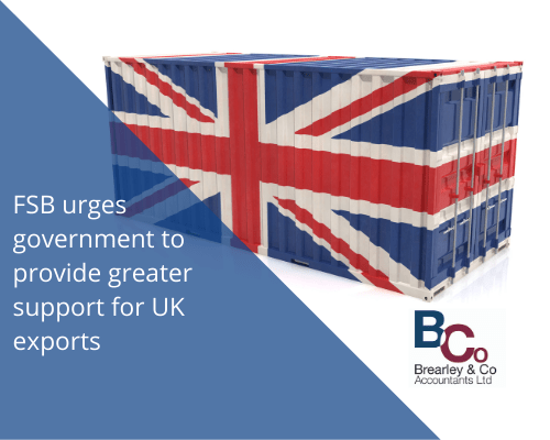 FSB urges government to provide greater support for UK exports