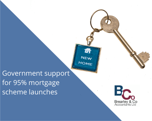 Government support for 95% mortgage scheme launches