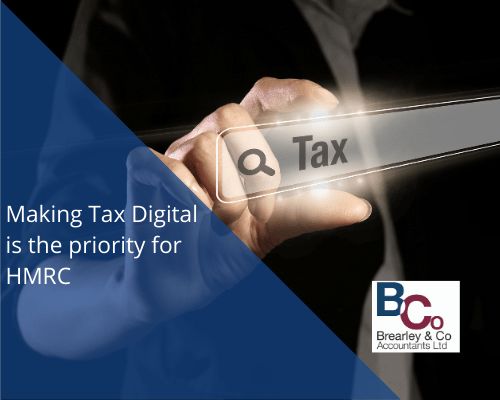 Making Tax Digital is the priority for HMRC