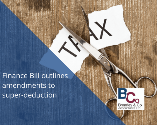 Finance Bill outlines super deduction tax