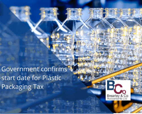 Government confirms start date for Plastic Packaging Tax