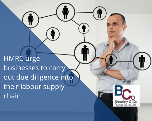 HMRC urge businesses to carry out due diligence into their labour supply chain