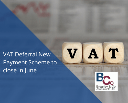 VAT Deferral New Payment Scheme to close in June
