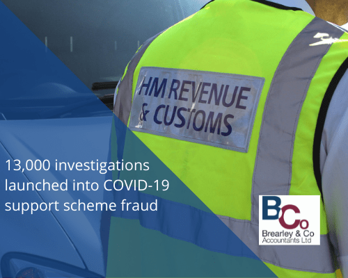 13,000 investigations launched into COVID-19 support scheme fraud