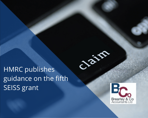 HMRC publishes guidance on the fifth SEISS grant