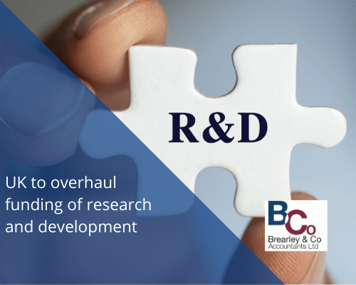 UK To Overhaul Funding of research and development