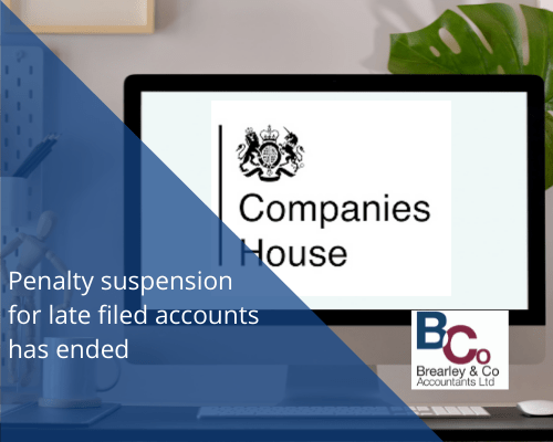 Companies House Penalty Suspension