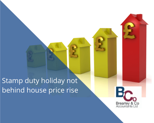 Stamp Duty Holiday not behind house price rise